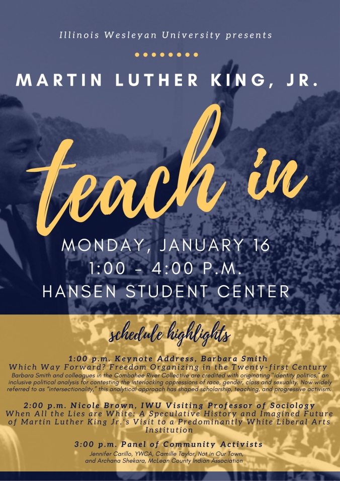 MLK Teach In